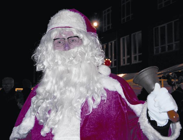 Inbeeld Kerstman