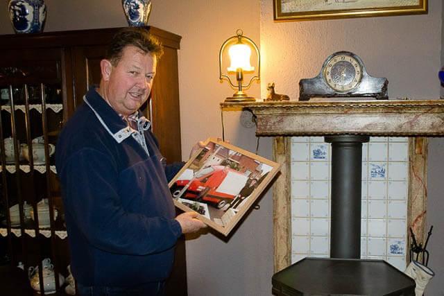 Niekerk Postbode Jo van der veen
