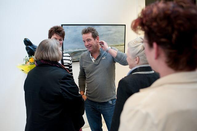 Buitenpost Ongenode gast opening expositie