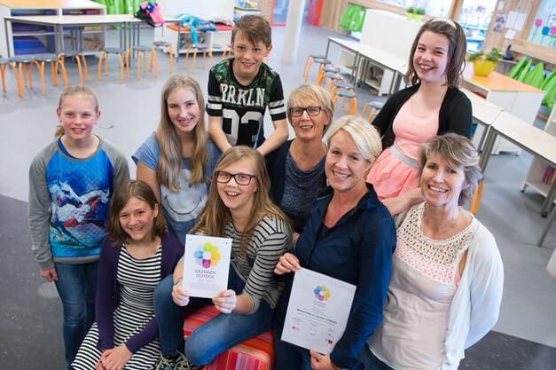 Zuidhorn de Borgh gezonde school