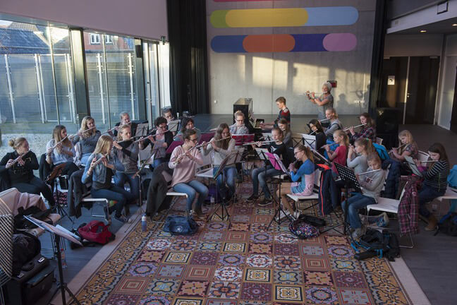 zuidhorn repetitie muziekschool