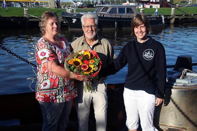 4000ste bezoeker Visserijmuseum Zoutkamp