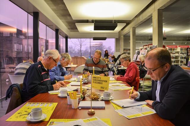 Zuidhorn College Amnesty_