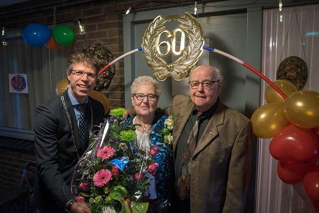 Grootegast 60 jarig huwelijk