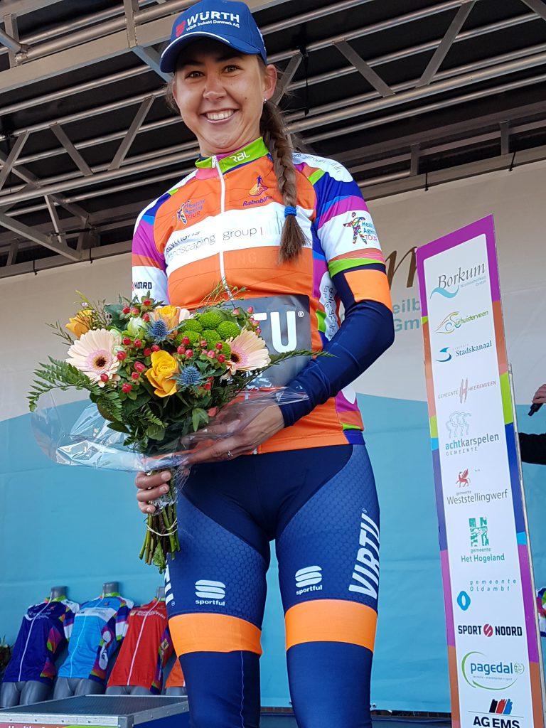 Anouska Koster start in vrouwenkoers Surhuisterveen