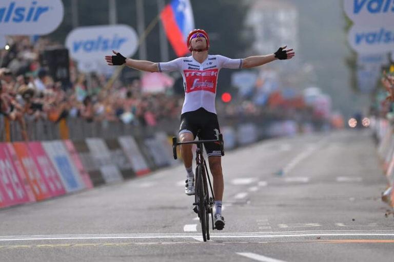 Bauke Mollema wint Ronde van Lombardije en eerste 'monument'