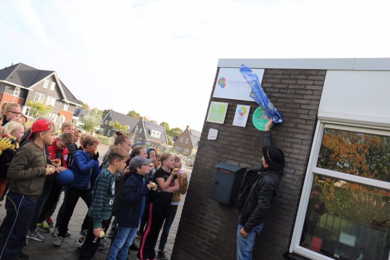 CBS Rehoboth in Oldekerk opnieuw Verkeersveilige school