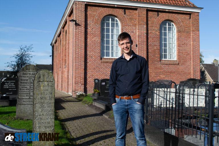 Joost van den Berge nieuwe pionier/kerkelijk werker Hervormde Kerk Sebaldeburen
