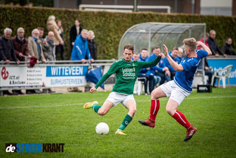 Doelpuntrijke wedstrijd in Surhuisterveen