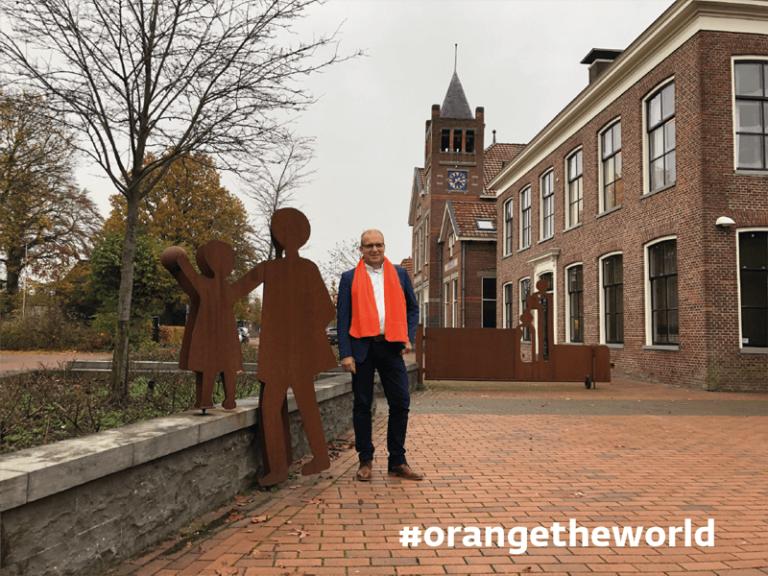Gemeente Westerkwartier kleurt oranje