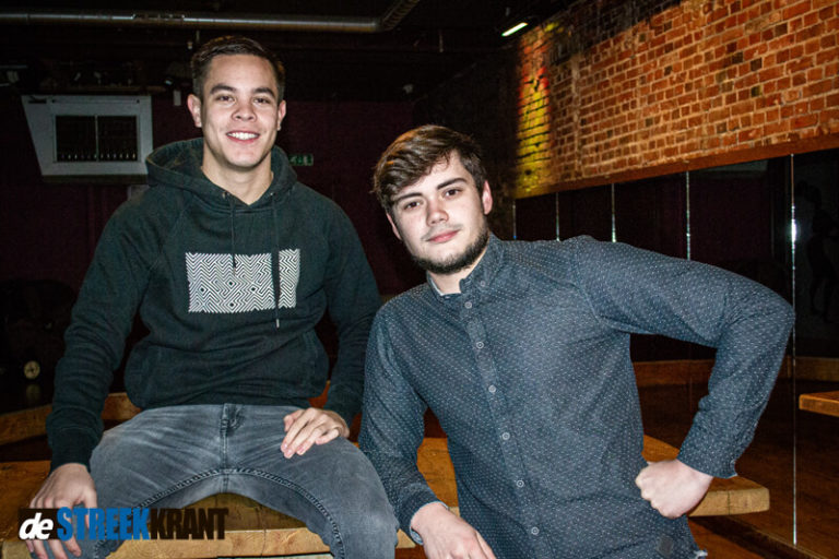 Julian en Martijn geven sounddesignlessen voor Muziekschool Kunstbedrijven Westerkwartier