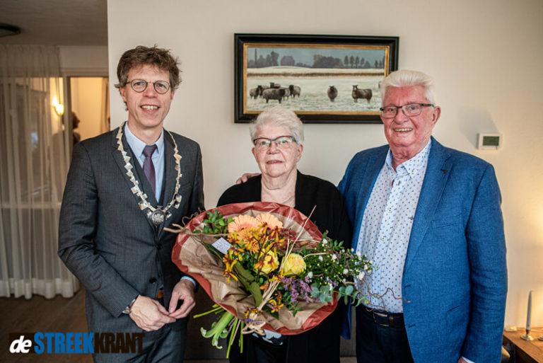 Echtpaar Reker-Achterhof viert 60-jarig huwelijk