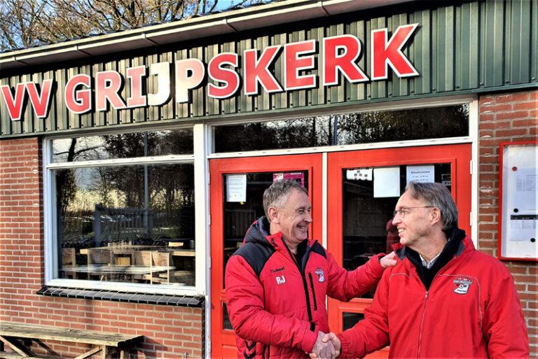 Rinie Jurna door als hoofdtrainer vv Grijpskerk